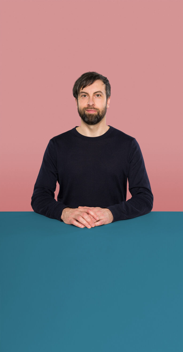 Portrait of Christian Mateit who is a Senior UX Designer at the UX Agency UseTree GmbH in Berlin.