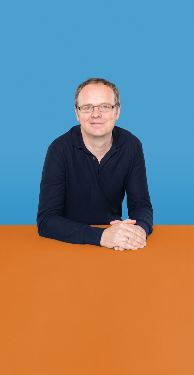 Portrait of Stefan Häber who is an industrial designer, consultant and managing owner of the Berlin-based user experience agency UseTree GmbH.