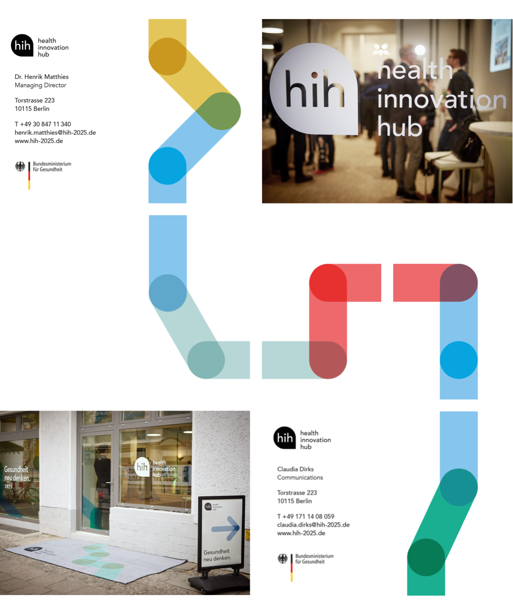 View of the hih's own website